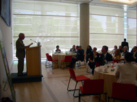 Luncheon hosted by the Canadian Embassy